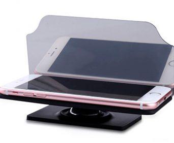 HUD мобильный навигационный дисплей - проекция на лобовое стекла основных данных о движении