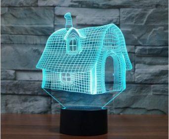 Эксклюзивные 3D-светильники - дом