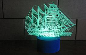 Эксклюзивные 3D-светильники -видео