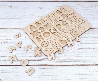 Wood Master обучающий алфавит