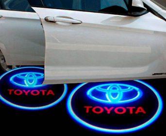 Дверная подсветка с логотипом авто - Toyota