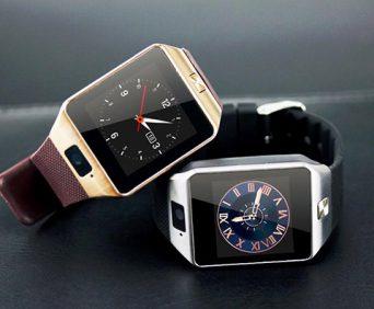 Умные часы для него - два цвета (черный и коричневый)