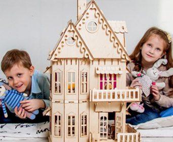 Кукольный эко-домик мечты - ни капли клея