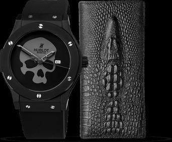 Стильные часы и Портмоне в подарок