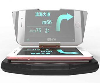 HUD мобильный навигационный дисплей - большой экран с навигацией