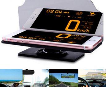 HUD мобильный навигационный дисплей - видео