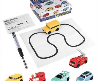 Inductive car - инновационная игрушка - что входит в комплект