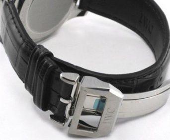 Благородный способ измерения времени - кожаный ремешок, классическая застежка