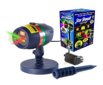 Звездный лазерный проектор