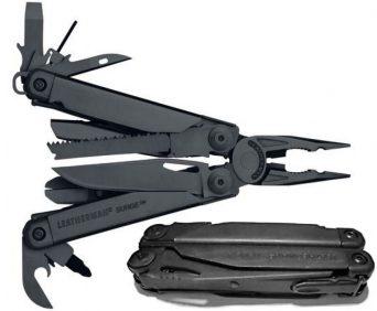 Мультитул Leatherman – 19 инструментов в 1 черный