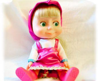 Интерактивная кукла Маша
