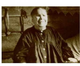 Нательная икона Матрона Московская - святая стариц Матрона