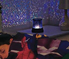 Ночник-проектор Мастер снов - звездное небо на стенах и потолке