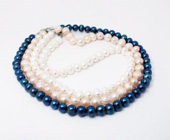 Ожерелья из натурального жемчуга