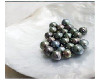 Ожерелья из натурального жемчуга - бусины