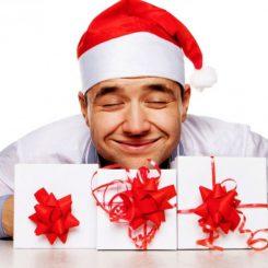 что подарить мужской половине на новый год - увлекающимся и активным
