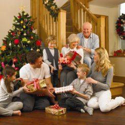 подарки на новый год в дом родителей