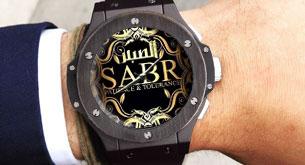 Часы SABR BigBang black подходят к любой одежде