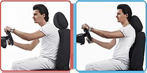 Поясничный упор SEAT BACK для автомобилистов