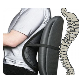 Поясничный упор SEAT BACK на офисном кресле