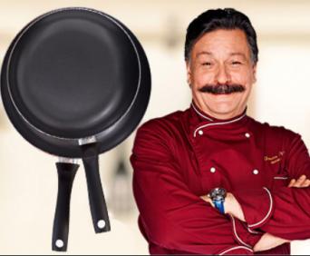 Профессиональные поварские сковородки ШефМастер - два самых оптимальных размера, в наборе дешевле