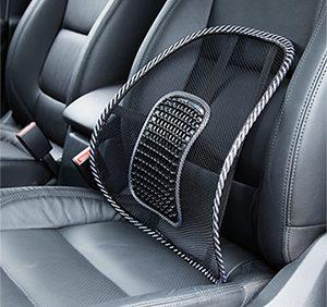 Поясничный упор SEAT BACK устанавливается на спинку кресла автомобиля