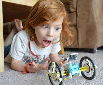 Конструктор Solar 14 в 1 - робот не колесах