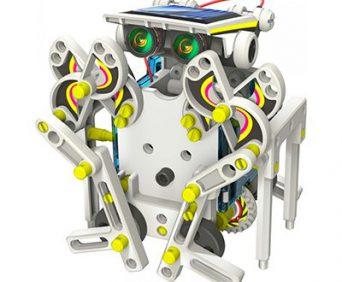 Конструктор Solar 14 в 1 - робот сова