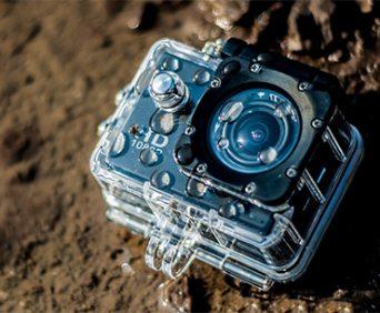 Экшн камера SportCam fullHD - водонепроницаемый чехол