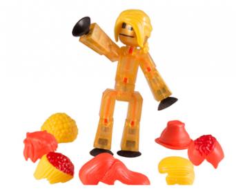 Stik Bot набор для съемки мультфильмов с аксессуарами - фигурка Stik Bot