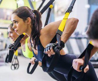 Тренировочные петли TRX для профессионалов и начинающих спортсменов