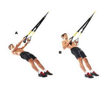 Тренировочные петли TRX - варианту использования