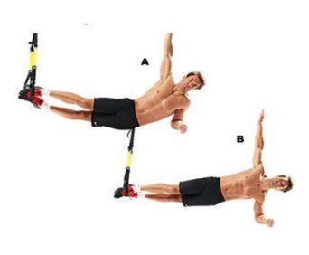 Тренировочные петли TRX на мышцы-стабилизаторы