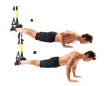 Тренировочные петли TRX - комплекс упражнений на отжимания