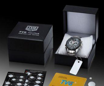 Армейские часы tvg в оригинальной упаковке, остерегайтесь подделок
