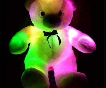 Светящийся плюшевый мишка - видео